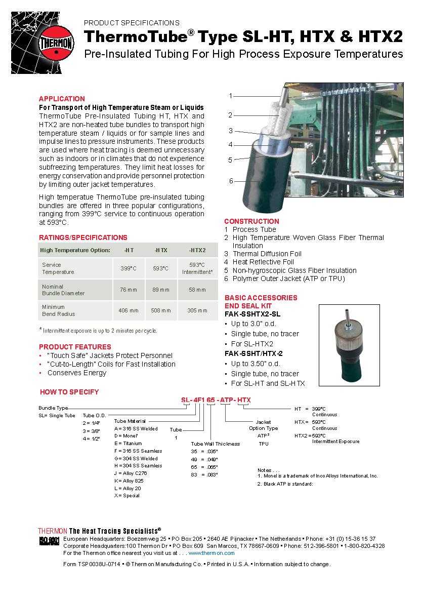 ThermoTube Preinsulated tubing