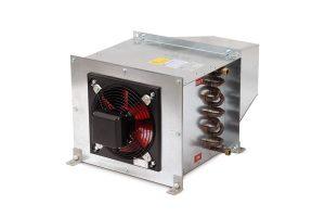 Máy sưởi khí bức xạ có quạt hỗ trợ